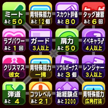 ビンゴシート5枚目