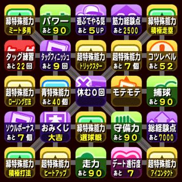 ビンゴシート9枚目