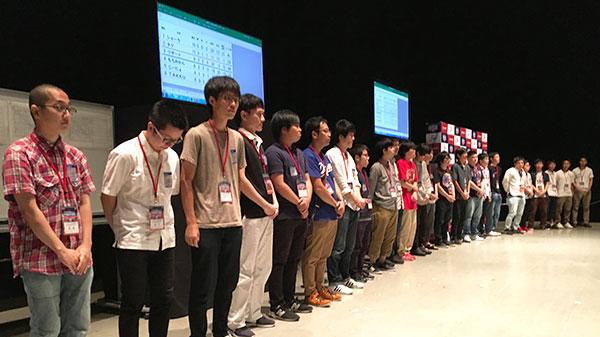 西日本選考会場